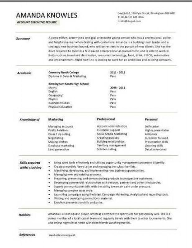 libreoffice curriculum vitae template