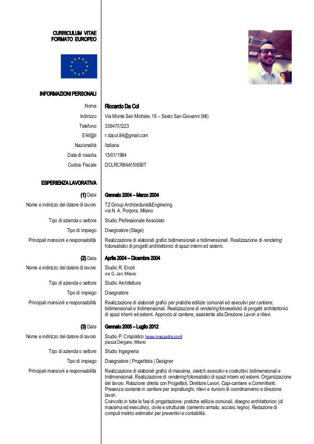 Curriculum Vitae Eureopeo Adfo