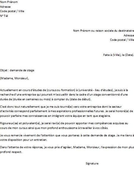Lettre de motivation campus france exemple - laboite-cv.fr