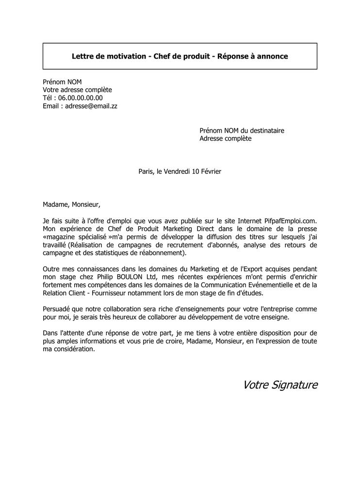 lettre de motivation eurofins