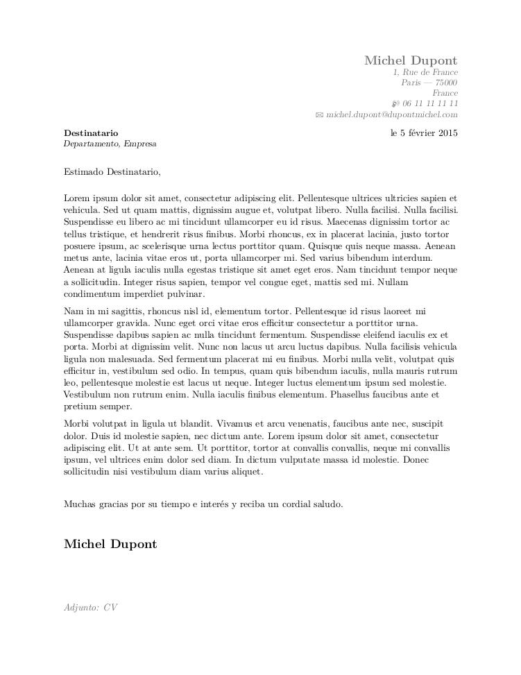 signature lettre de motivation gauche ou droite
