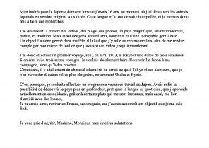 Lettre De Motivation Pour Ecole De Theatre Laboite Cv Fr