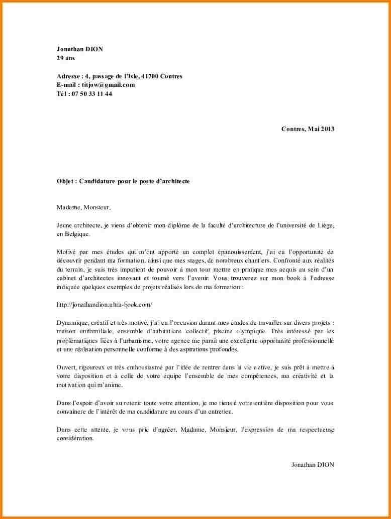 lettre de motivation prospecteur foncier