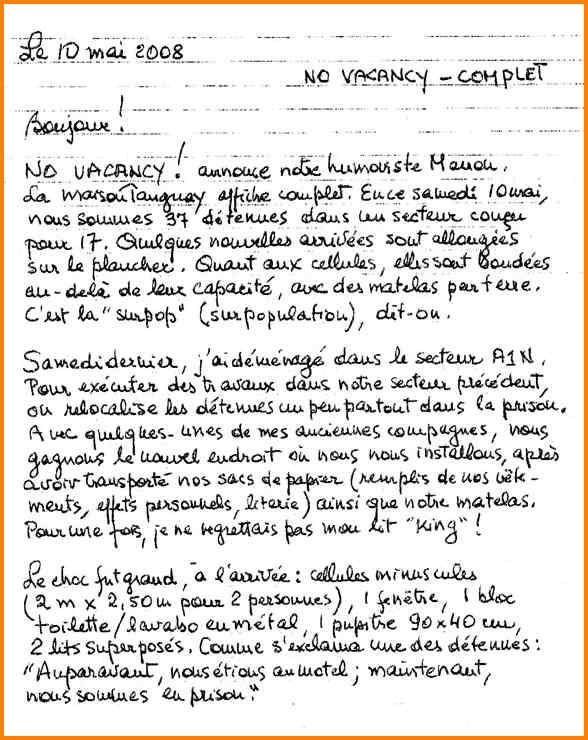 lettre de motivation manuscrite signature ou pas