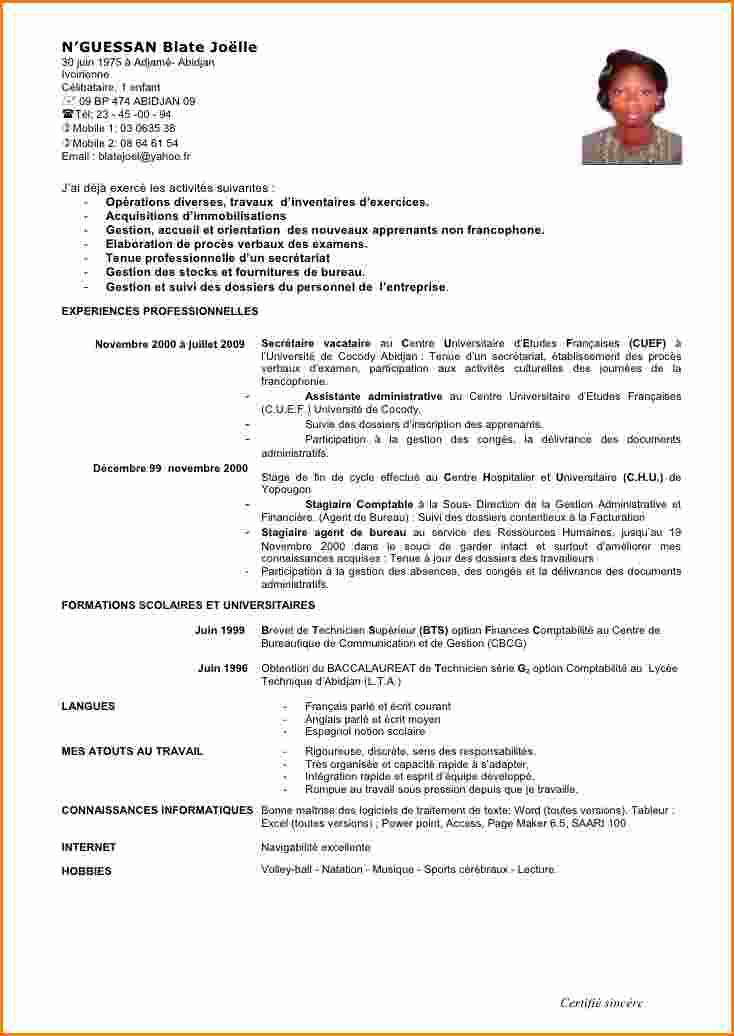 lettre de motivation exemple assistant administratif