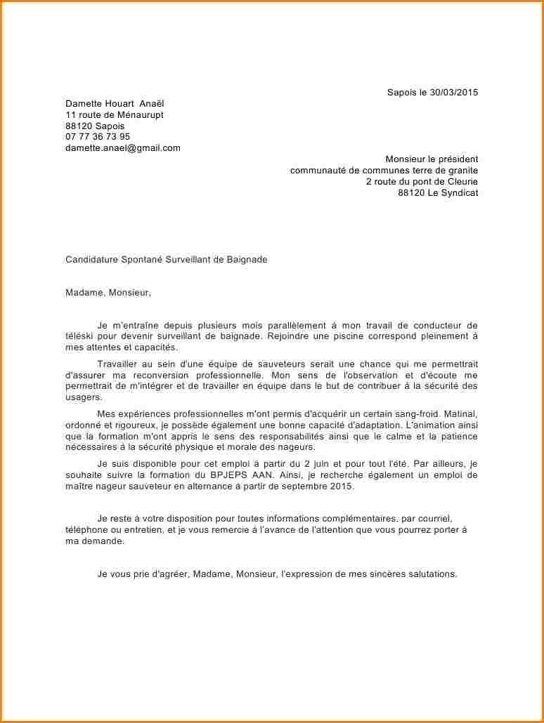 lettre de motivation candidature spontan u00e9e cariste