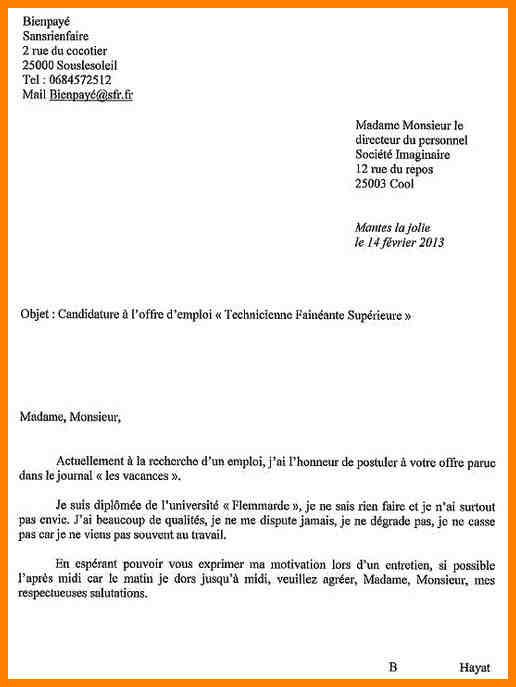 lettre de motivation entr u00e9e conservatoire