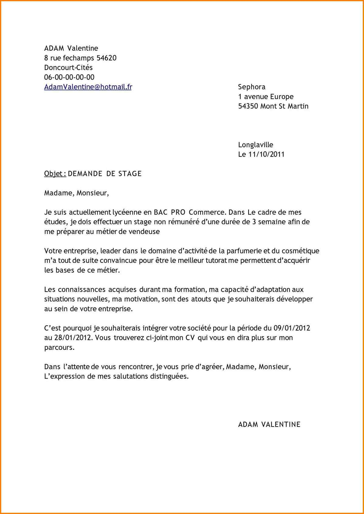 lettre de motivation emploi esth u00e9ticienne