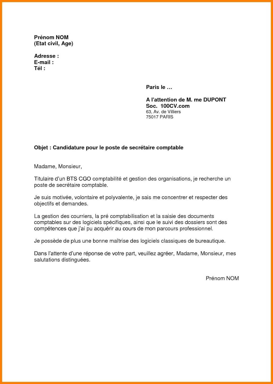 Lettre de motivation vendeur sans expérience - laboite-cv.fr