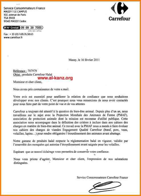lettre de motivation job etudiant carrefour