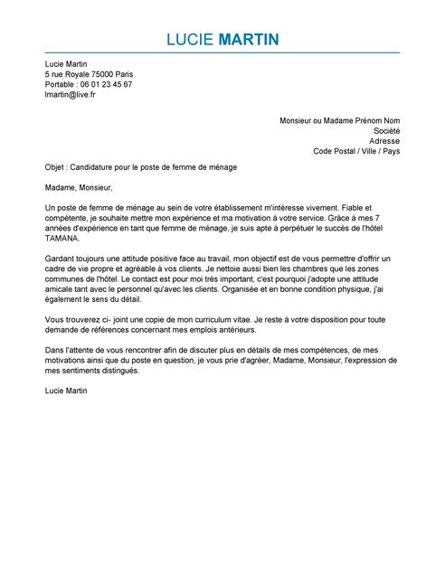 Exemple lettre de motivation bouche à oreille - laboite-cv.fr