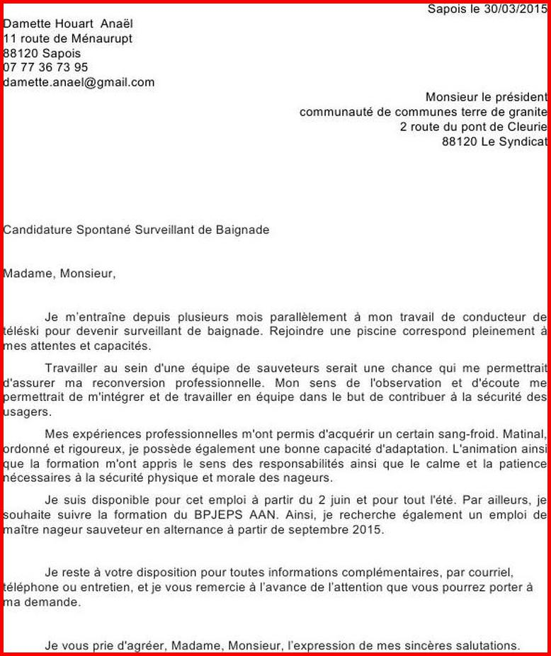 Prestement Prespiote Lettre De Motivation: Lettre De Motivation Pour Alternance Bpjeps