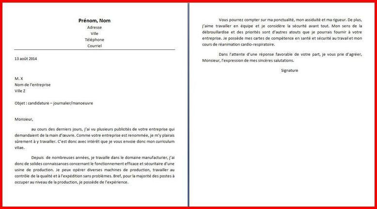 lettre de motivation agent de production la poste