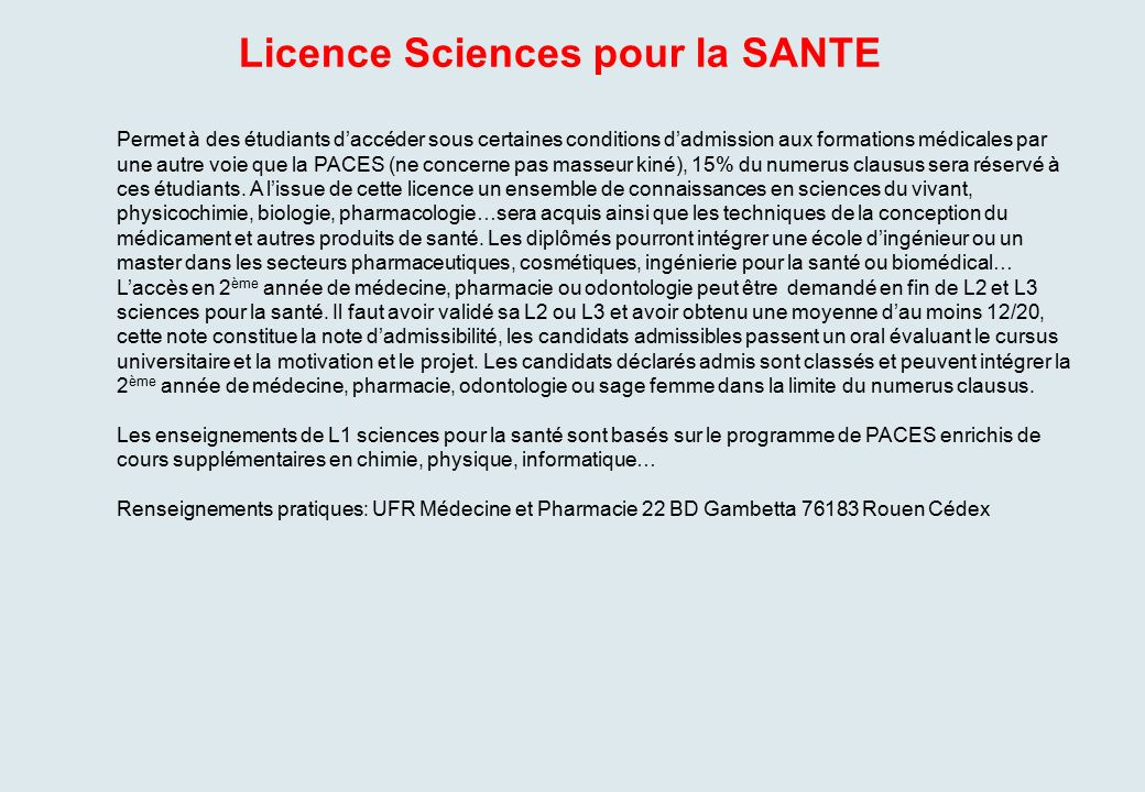 lettre de motivation licence sciences de la terre