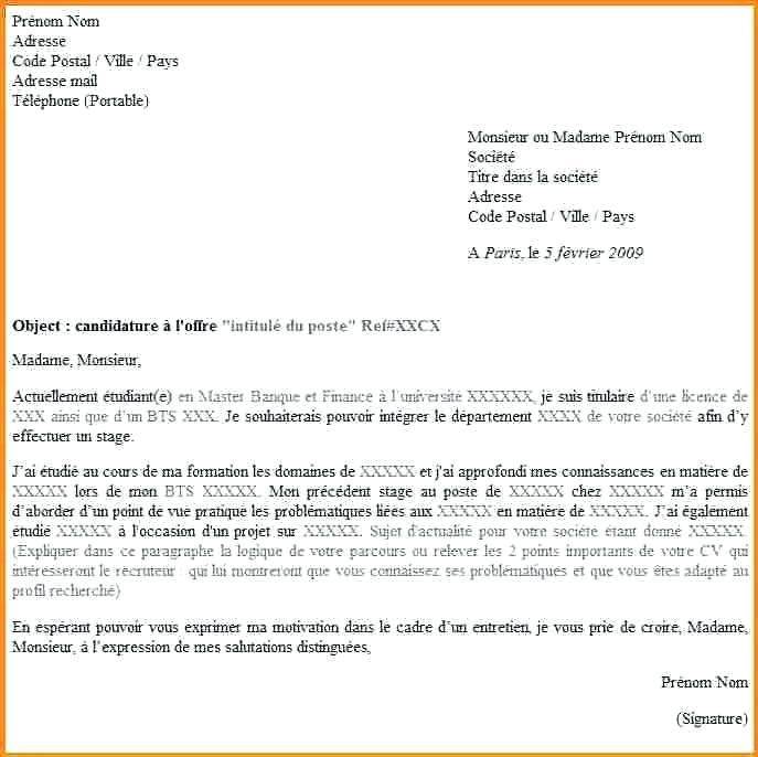 u00e9crire une lettre de motivation en anglais 3eme