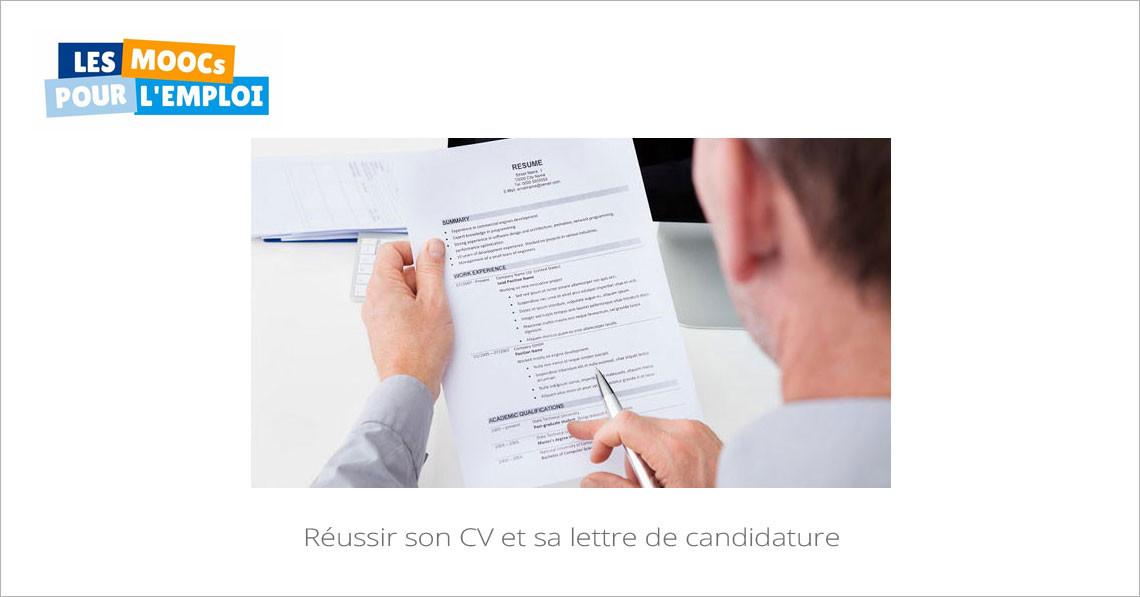 r u00e9ussir son cv et sa lettre de motivation