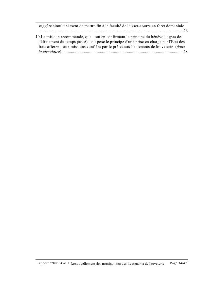 lettre de motivation lieutenant de louveterie