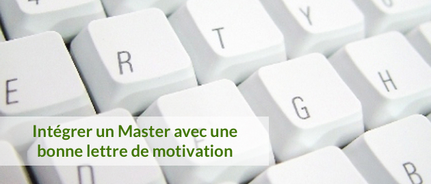 lettre de motivation master apas