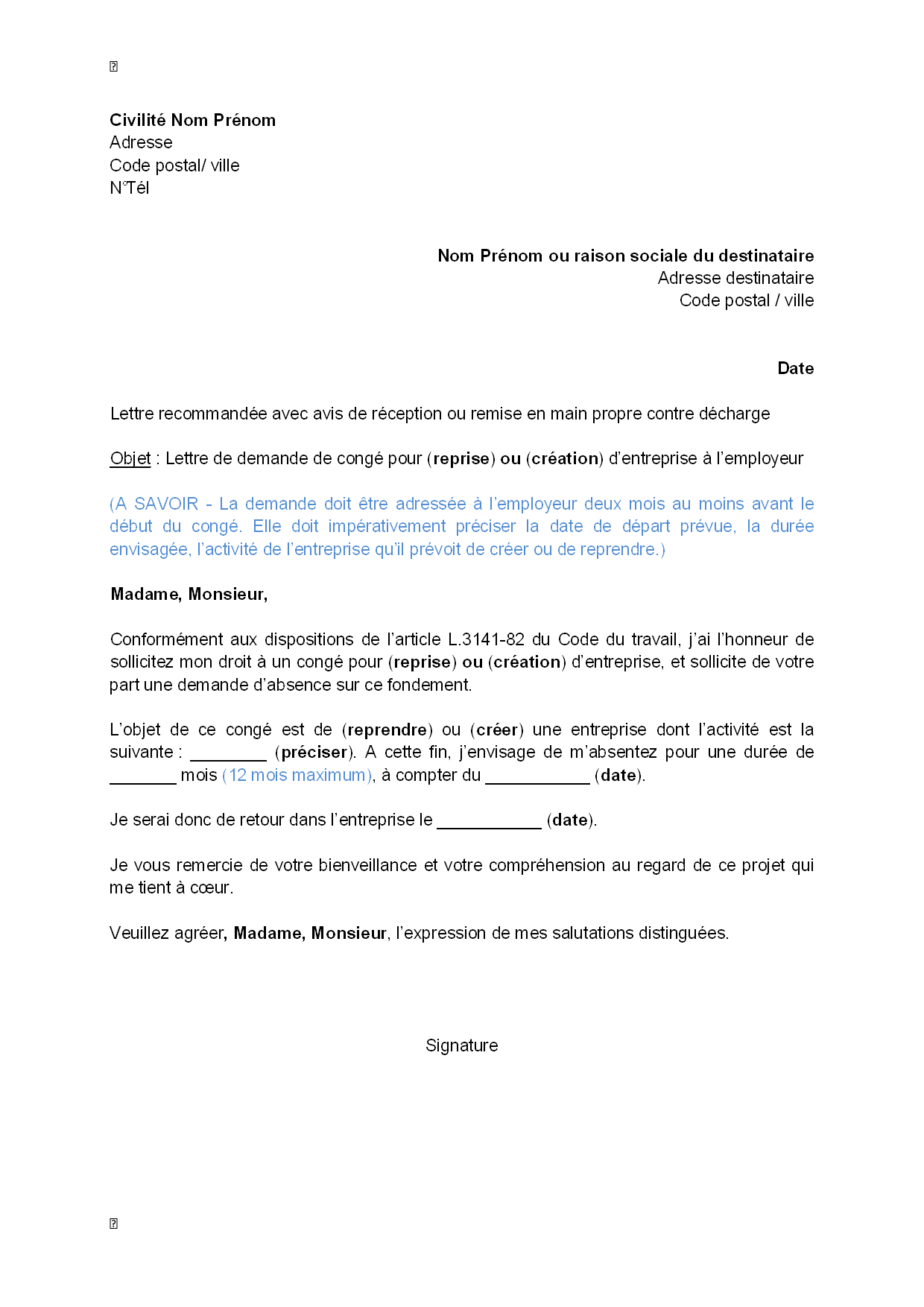 lettre de motivation pour inscription au doctorat