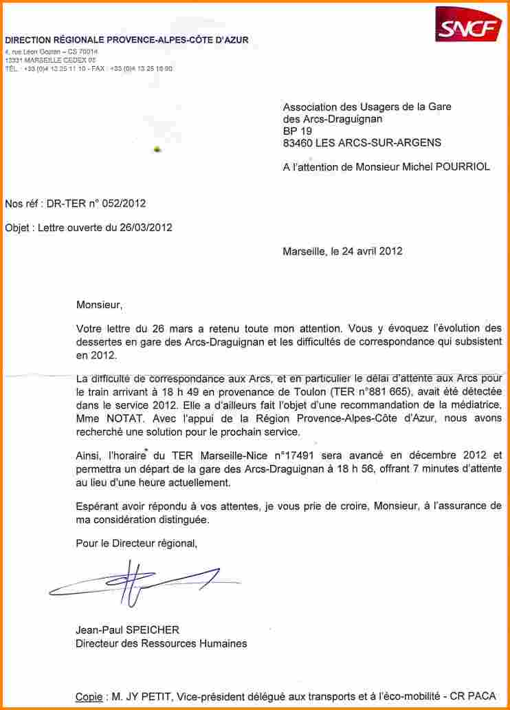 Lettre de motivation sncf guichet