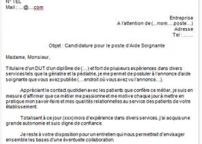 Exemple D Une Lettre De Motivation Pour Un Stage De 3eme Laboite Cv Fr