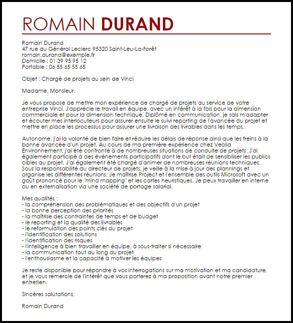 lettre de motivation pour un poste d u0026 39 adjoint technique