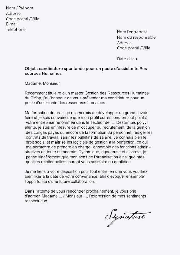 lettre de motivation candidature spontan u00e9e magasinier cariste