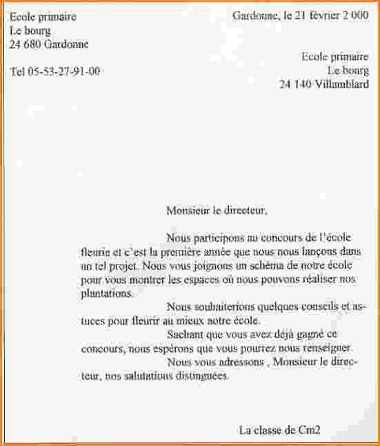 lettre de motivation derogation ecole