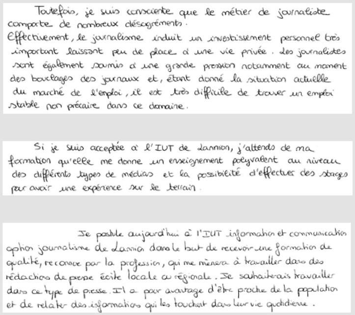 lettre de motivation pour integrer une formation garantie