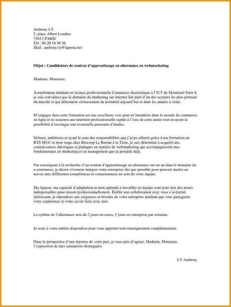 mod u00e8le lettre de motivation dts imagerie m u00e9dicale et