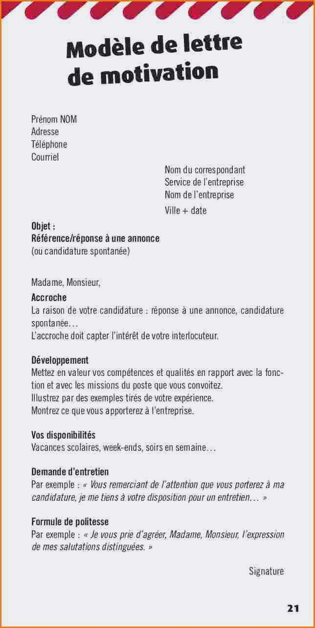 lettre de motivation caissier d u00e9butant candidature