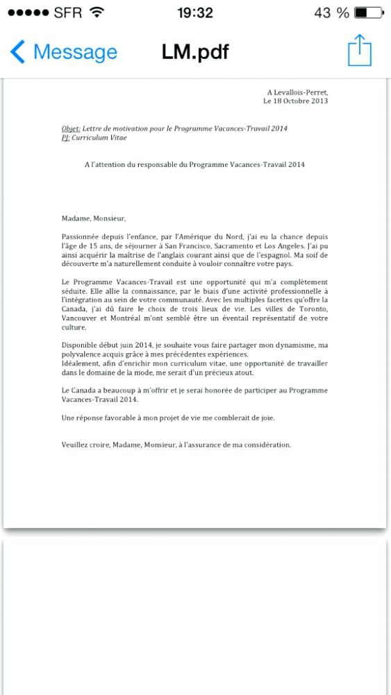 exemple lettre de motivation operateur de fabrication
