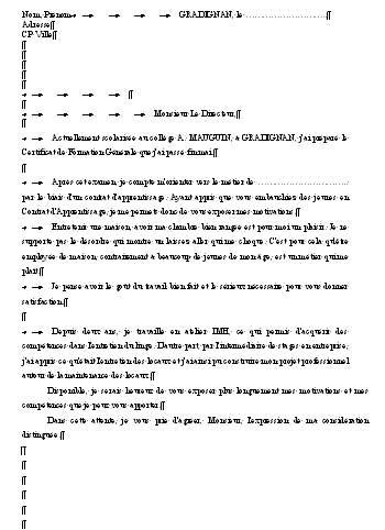 Lettre De Motivation Contrat D Apprentissage Vente Laboite Cv Fr