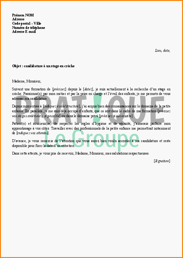lettre de motivation formation agent administratif