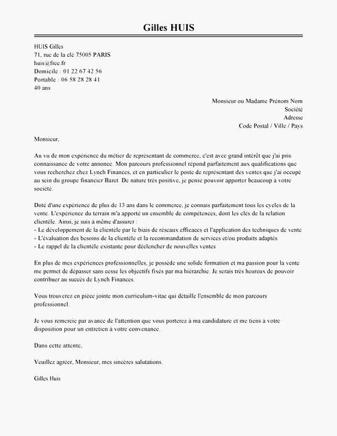 lettre de motivation sans exp u00e9rience et sans diplome