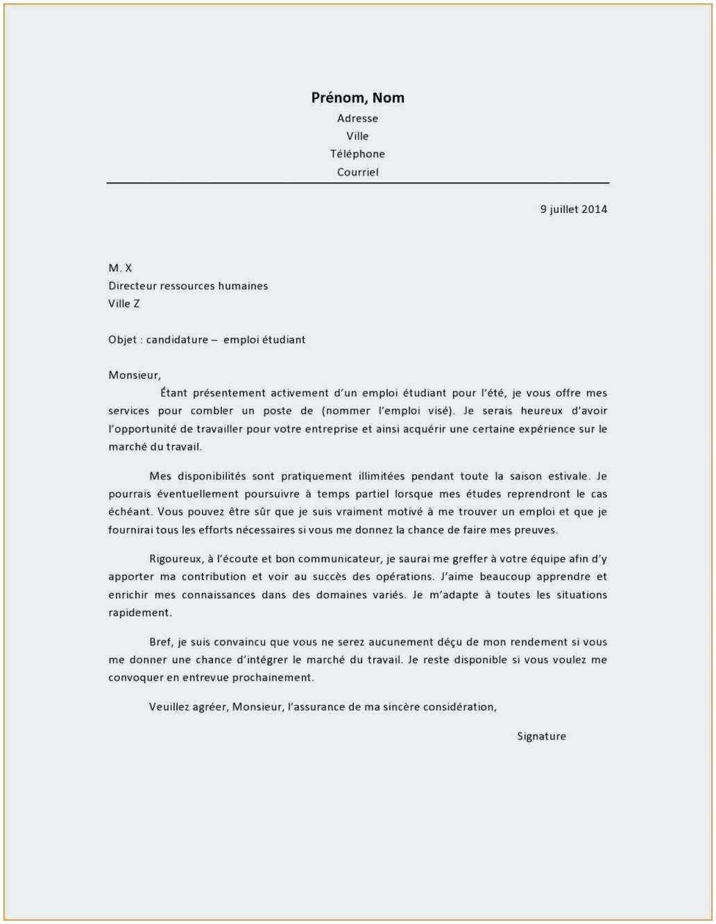 lettre de motivation stage decouverte ambulancier