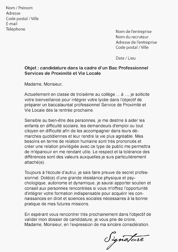 lettre de motivation animatrice en maison de retraite