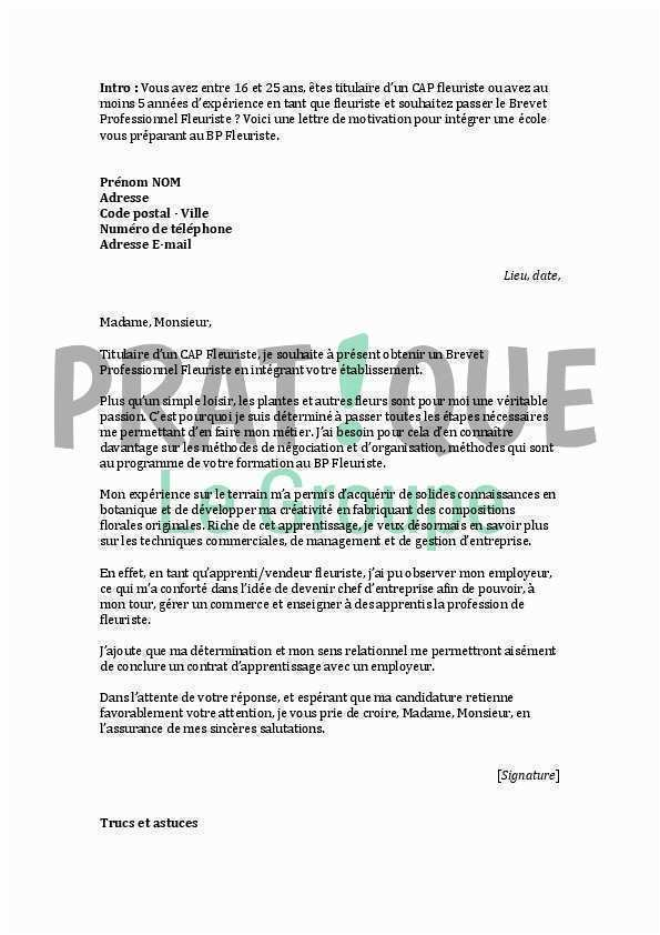 lettre de motivation formation assistant commercial