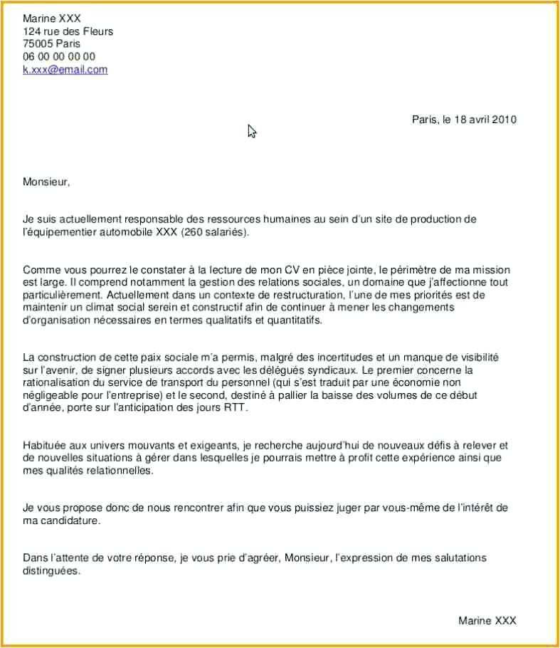 lettre de motivation assistante de production