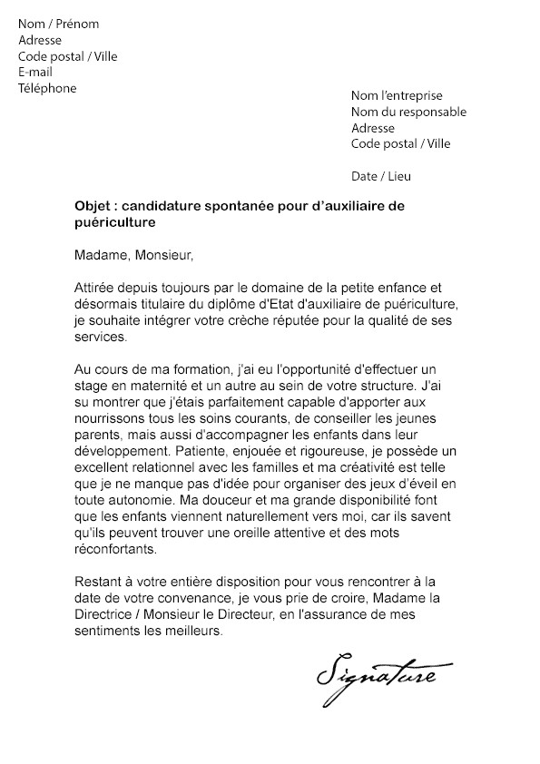 lettre de motivation parc asterix gratuit