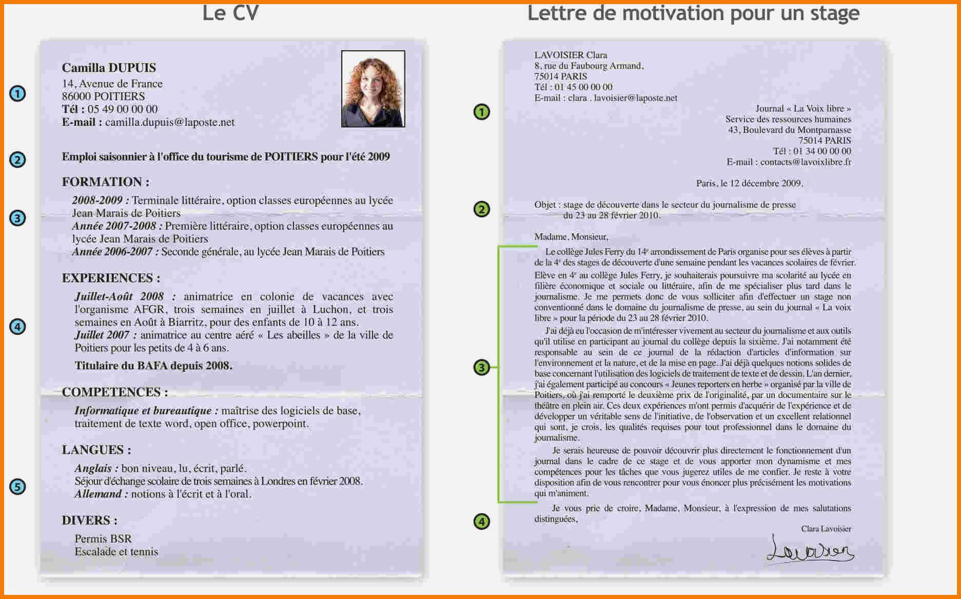lettre de motivation en anglais pour seconde europ u00e9enne
