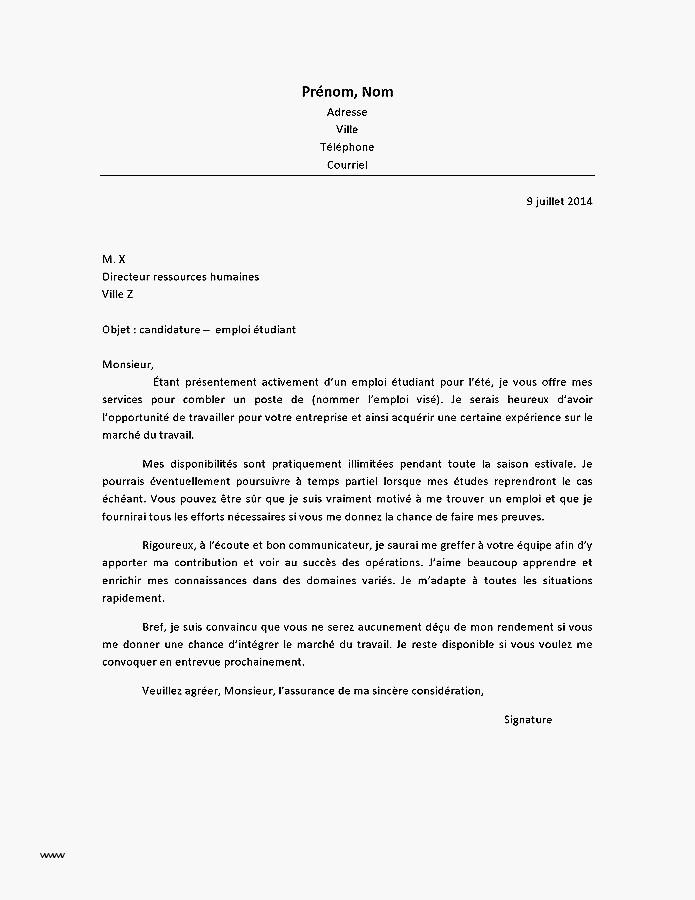 lettre de motivation emploi assurance