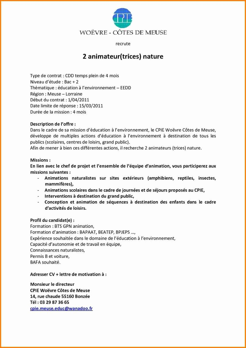 lettre de motivation caf agent administratif