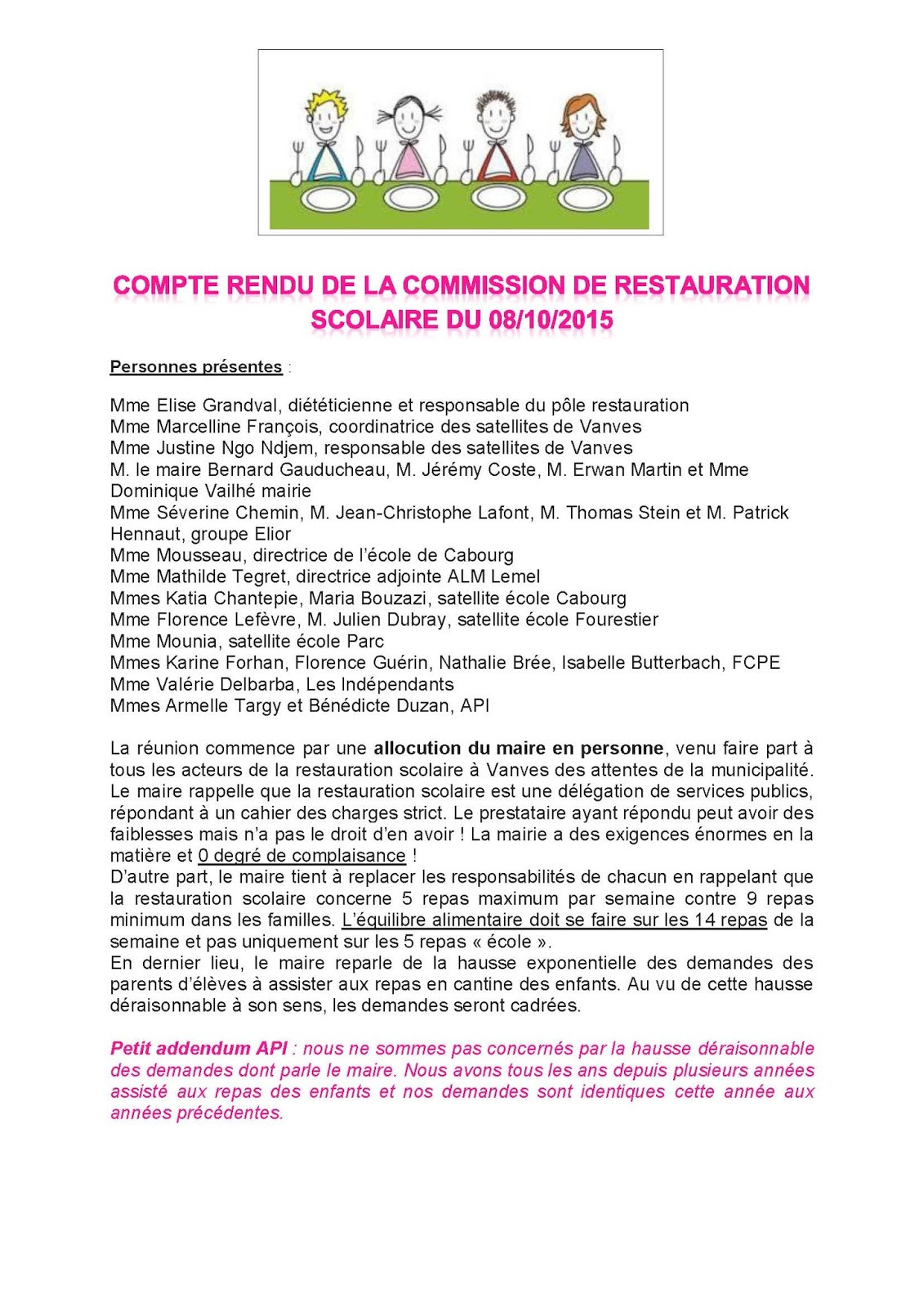 lettre de motivation agent de restauration scolaire sans