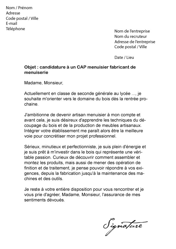 lettre de motivation pour cdi apres interim