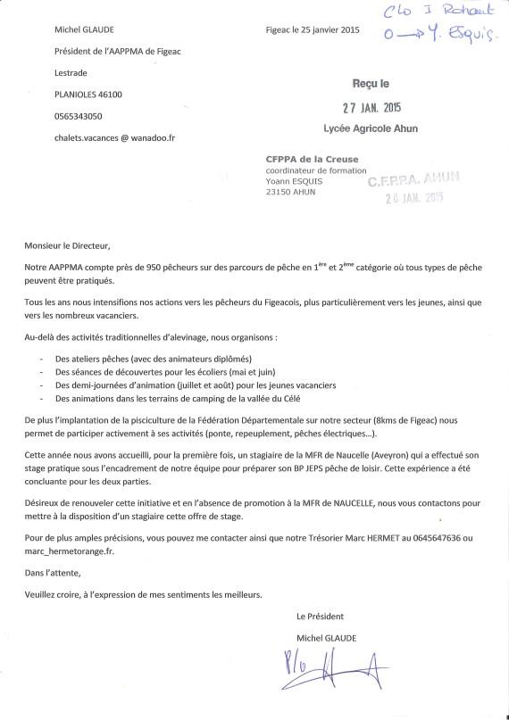 lettre motivation directeur centre de loisirs