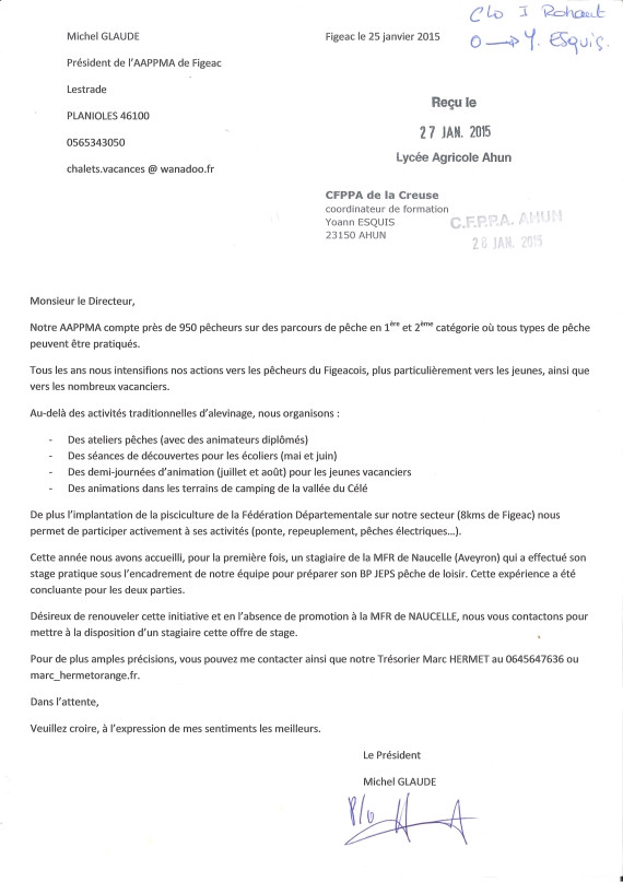 lettre de motivation directrice centre de loisirs