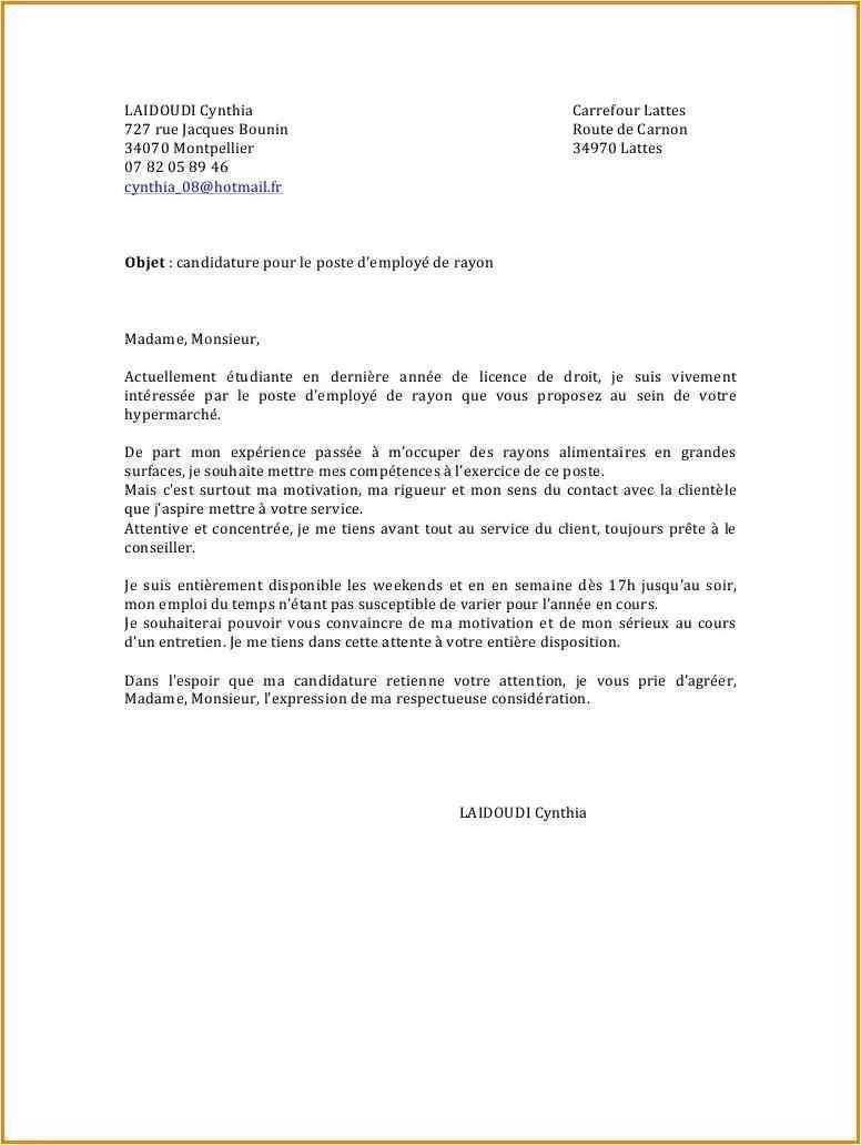 lettre de motivation assistant de gestion locative