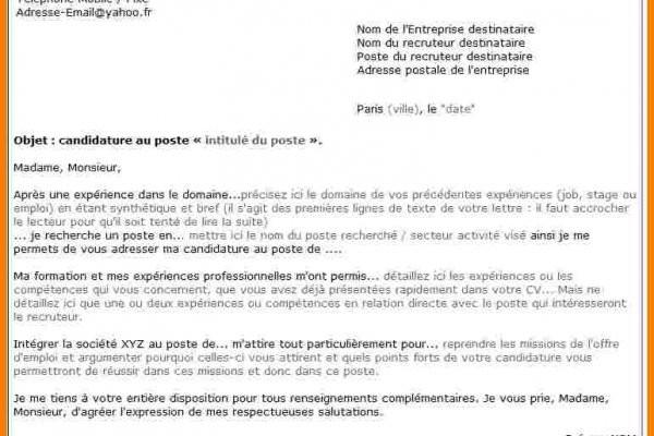 lettre de motivation pour gendarmerie gav