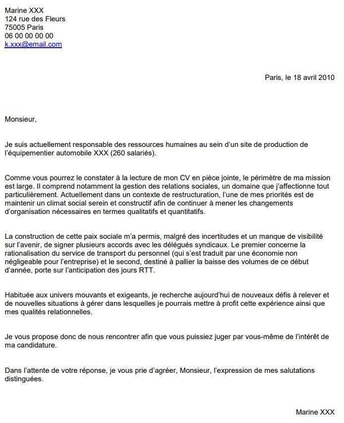 lettre de motivation sur pole emploi
